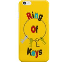 Ring of Keys - Fun Home iPhone Case/Skin