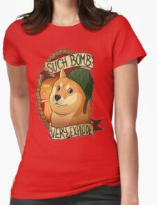 CSGO Doge  Womens Fitted T-Shirt