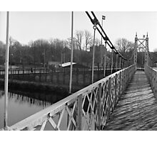 Just Another Shot Of The Shakey Bridge Photographic Print