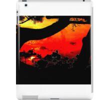 Orange Red Sunset LBNY 7360 iPad Case/Skin