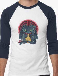 Maneki Dragon Men's Baseball ¾ T-Shirt