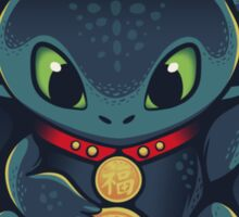 Maneki Dragon Sticker