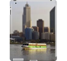 a small city needs a small ferry iPad Case/Skin
