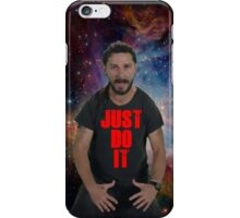 JUST DO IT SHIA LABEOUF GALAXY iPhone Case/Skin