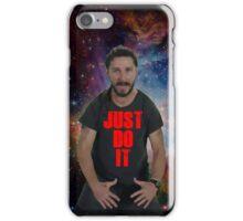JUST DO IT SHIA LABEOUF GALAXY iPhone Case/Skin