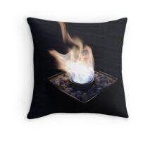 Windy Fire Throw Pillow