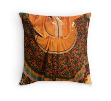 Dancer in Chihuahua Throw Pillow
