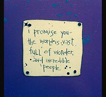 I Promise You #3 by PoetJenHarris