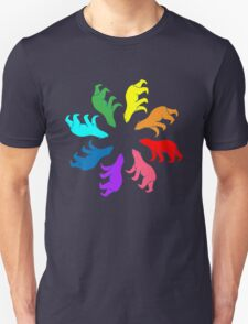Color: Bear Rainbow Pinwheel T-Shirt
