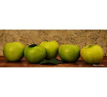 Apples1 Photographic Print