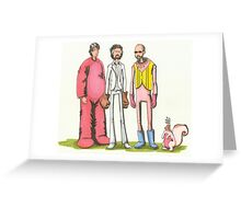 The Flaming Lips & Friend Greeting Card