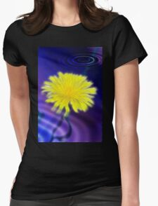 Submerged Dreamy Dandelion Womens Fitted T-Shirt