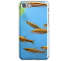 Action fish iPhone Case/Skin