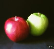 Red and Green Apples 1 by Christopher Johnson
