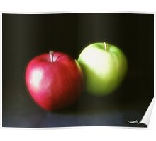 Red and Green Apples 1 Poster