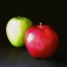 Red and Green Apples 2 by Christopher Johnson