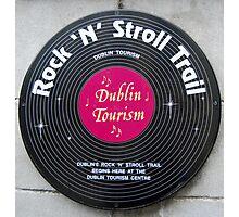 Rock n' Roll - Dublin Photographic Print