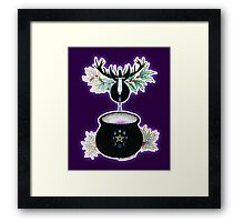 The Cauldron Born Framed Print