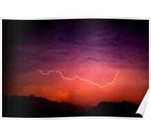 Lightning Show Poster