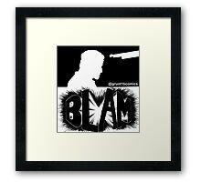 Bedlam In Troubletown BLAM Censored Framed Print