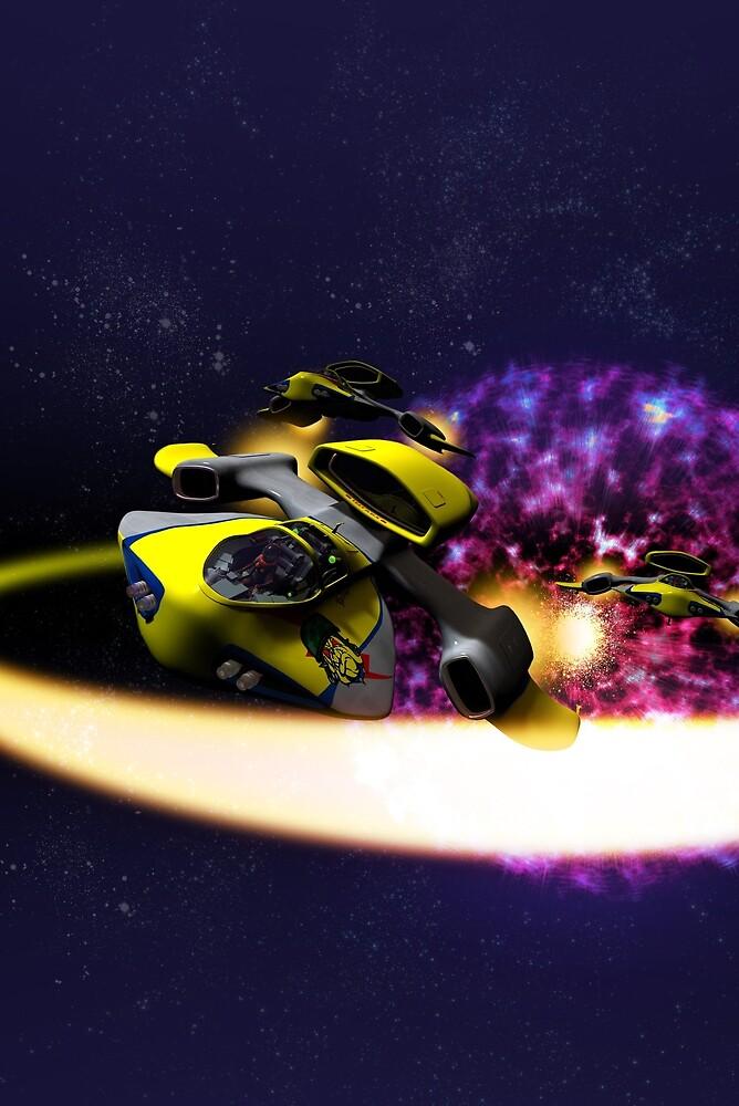 Stellar Drift by mdkgraphics