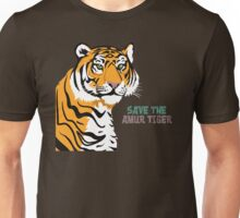 Save the Amur Tiger Unisex T-Shirt