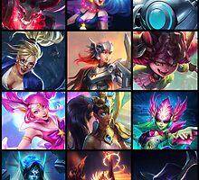League Of Legends Support Calendar by ArtoriasTheHoly