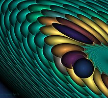 Fractal Vortex by Sandra Bauser Digital Art