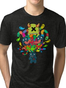 Monster Brains Tri-blend T-Shirt