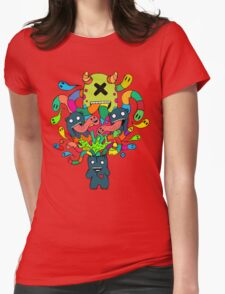 Monster Brains Womens Fitted T-Shirt