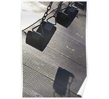 Swings, Riverside Park, NYC Poster