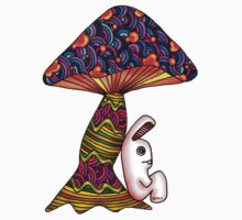 Rabbit by a Mushroom Kids Clothes