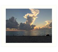 Miami Beach Sunrise 1 Art Print