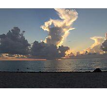 Miami Beach Sunrise 1 Photographic Print