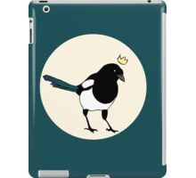 King Magpie iPad Case/Skin