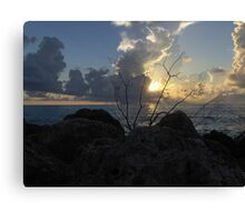 Miami Beach Sunrise 2 Canvas Print