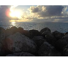 Miami Beach Sunrise 3 Photographic Print
