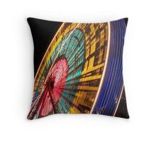 Edinburgh Winter Festival Big Wheel Throw Pillow