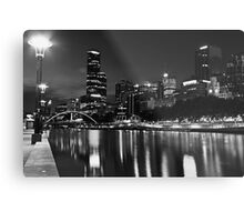 The banks of the yarra... Metal Print