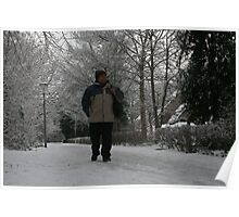 Well! If that's not snow, ... I'm a Dutchman!! Poster