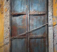 A Shuttered Window, Istanbul by Di Mackey