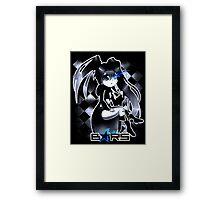 Black Rock Shooter Chibi Framed Print