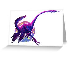 Bisexual Byronosaurus (without text)  Greeting Card