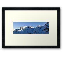 Monte Rosa and Lyskamm Framed Print
