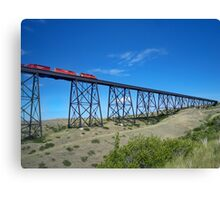 Crossing the Coulees Canvas Print