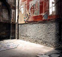 Herculaneum after Vesuvius, Naples by Di Mackey