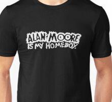 ALAN MOORE IS MY HOMEBOY (Dark) Unisex T-Shirt