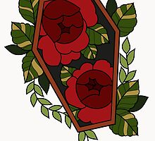 Rose Coffin by Courtney James