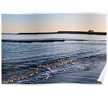 View Toward The Cobb ~ Lyme Regis Poster