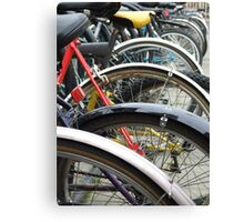 Oxford Bicycles Canvas Print